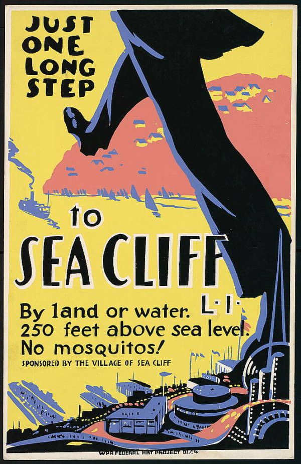 New Deal Posters Sea Cliff