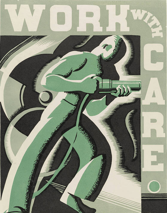New Deal Work Poster