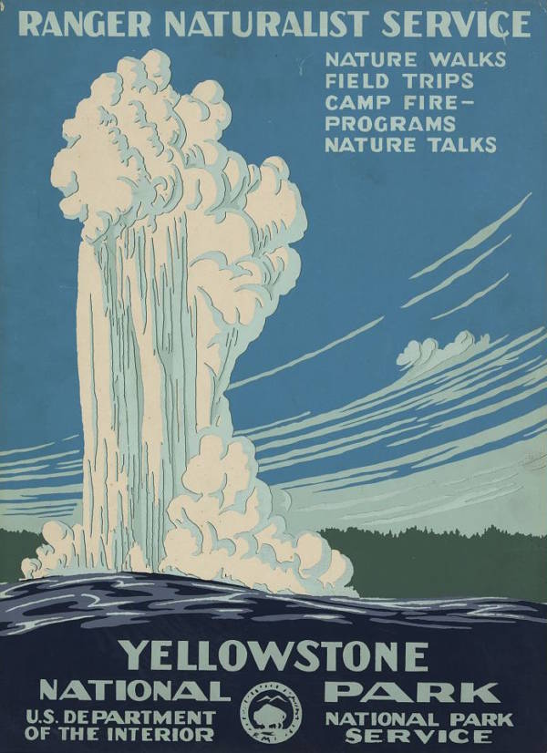 WPA Posters Yellowstone National Park