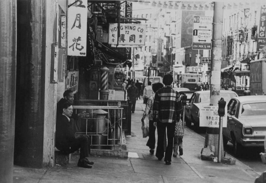 Nyc Chinatown 1960