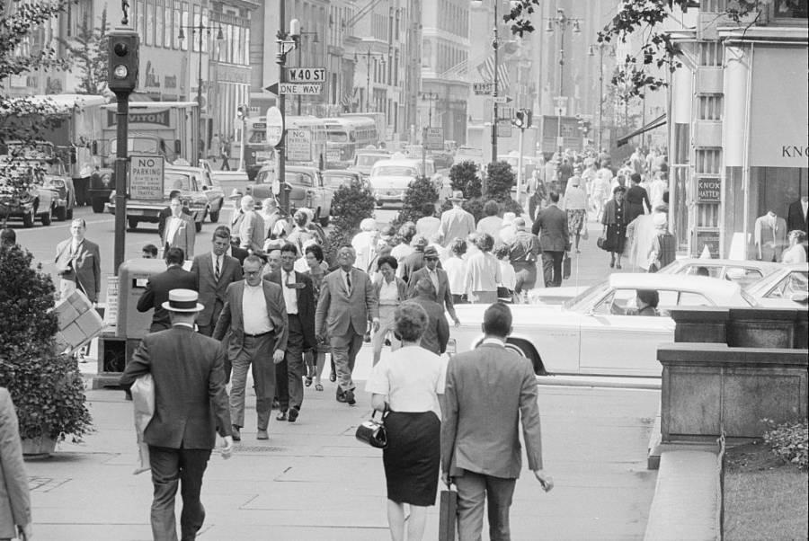 Nyc Street Scene 1960s