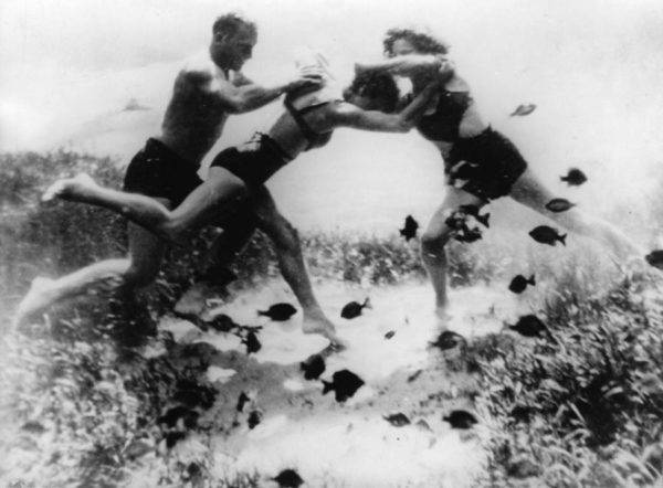 Ocean Floor Wrestling