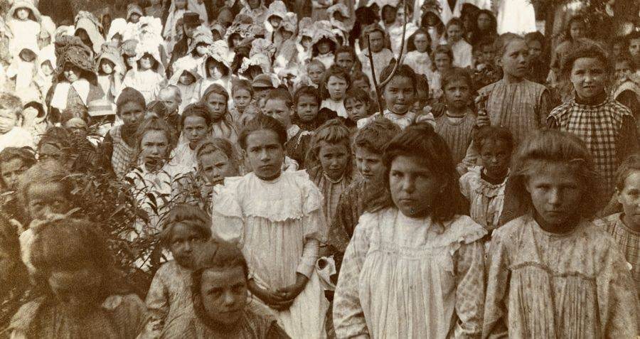 Haunting Photos Of History's First Concentration Camps, 40 Years Before The Holocaust
