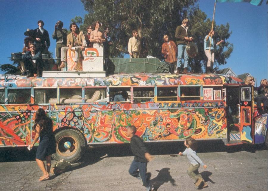 On The Bus Further Hippies