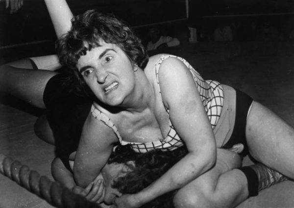 Women S Wrestling 24 Vintage Photos From The Wild Early Days
