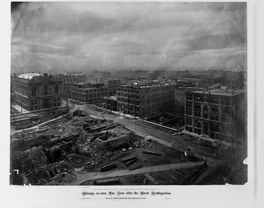 The Great Chicago Fire Of 1871 When The Windy City Almost Burned Down