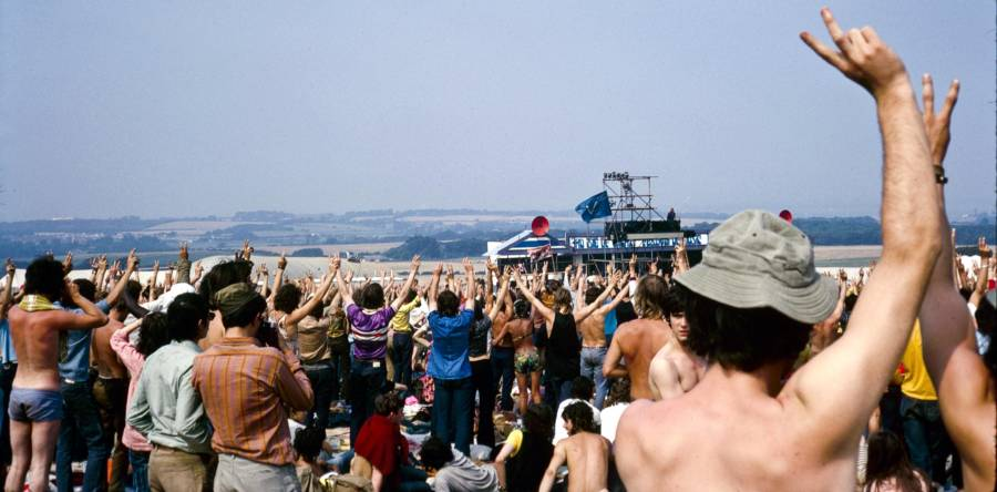 Pictures From The 1970 Isle Of Wight Festival