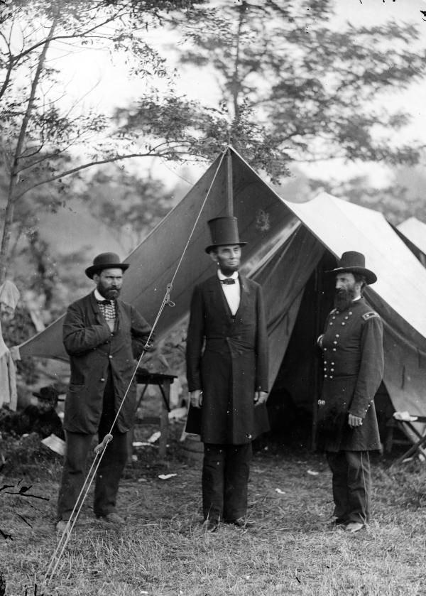 Pinkerton Lincoln Top Hat