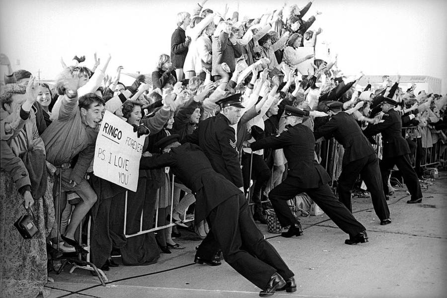 Image result for beatle hysteria photos