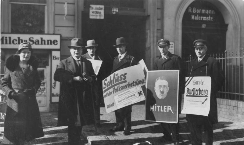 Polling Station March 1932