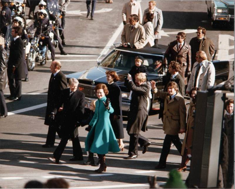 President Carters Inauguration Parade