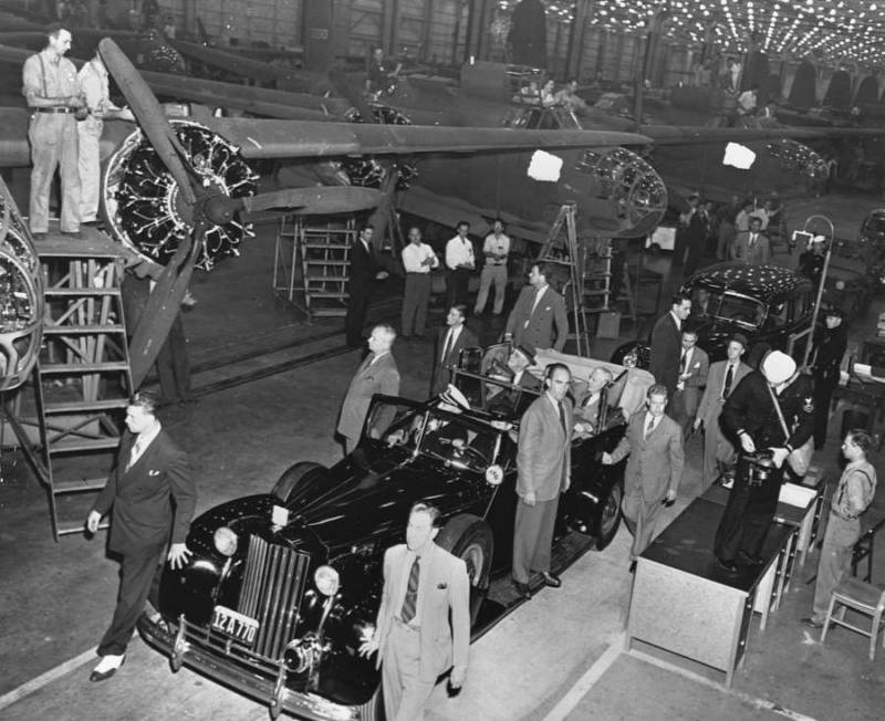 President Fdr Touring Aircraft Factory