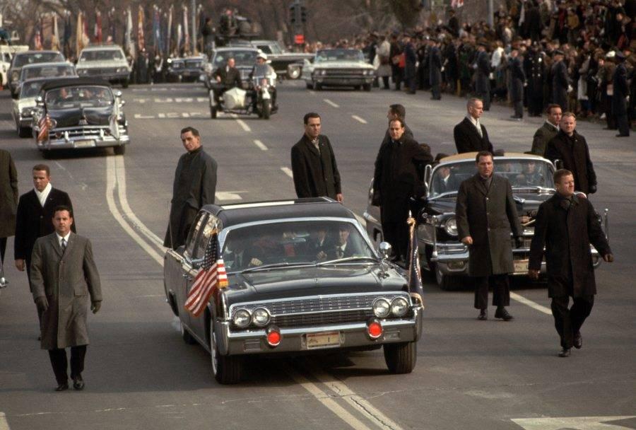 President Johnson Limousine Inaugural Parade