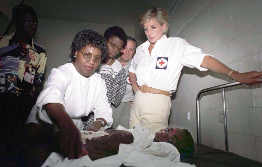 Princess Diana Pictures Angola