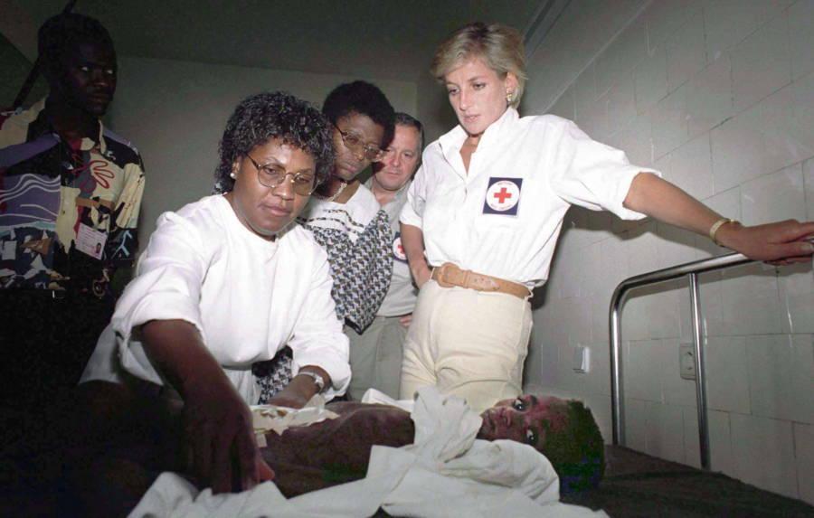 Princess Diana Pictures Angola