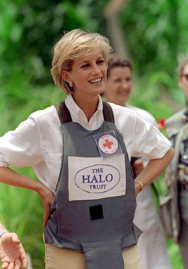 Princess Dianas Humanitarian Work