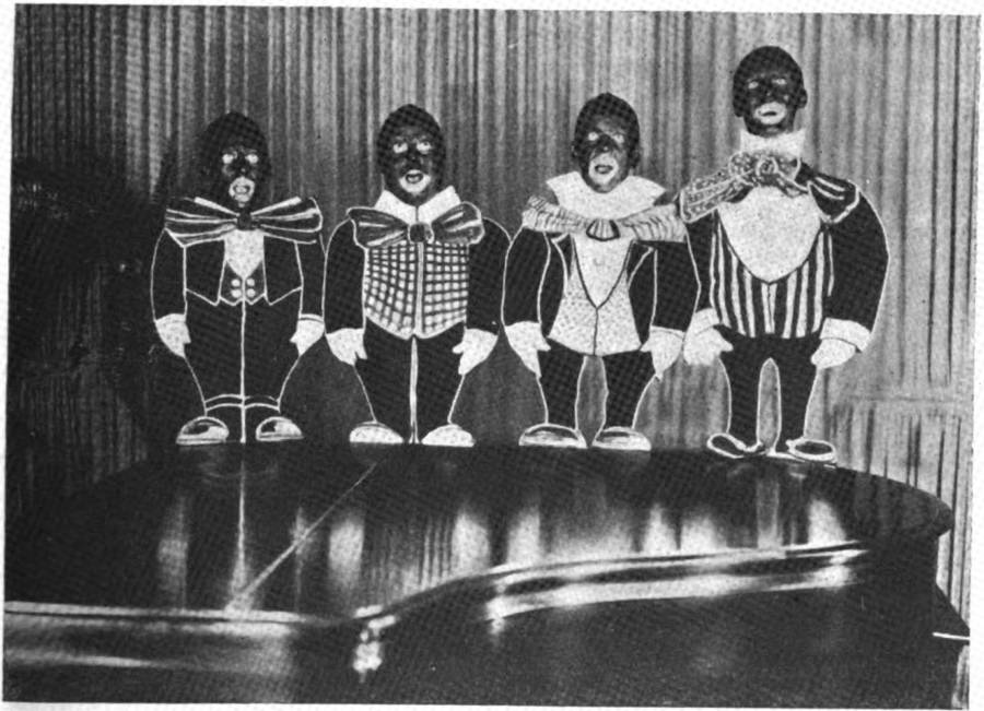 Radio Four Blackface Singers