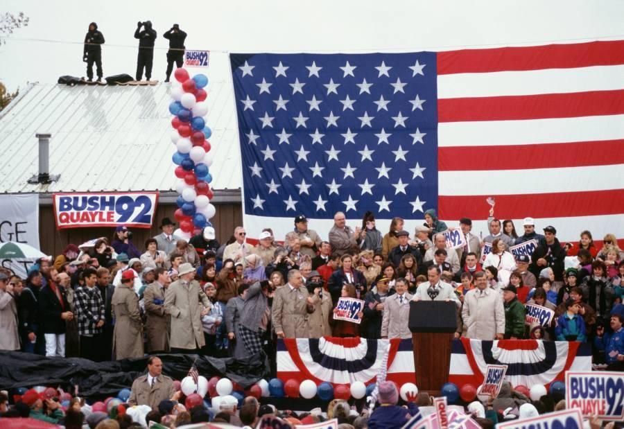 Rally For President George Bush