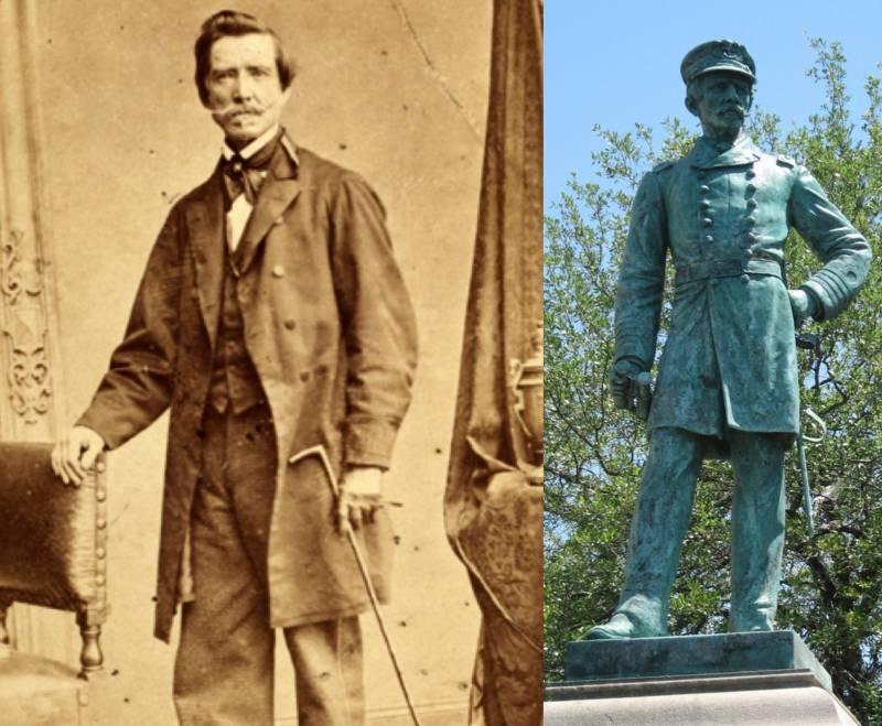 Raphael Semmes Statue Monument