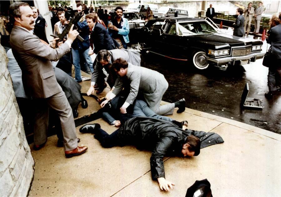 Reagan Assassination Attempt Chaos