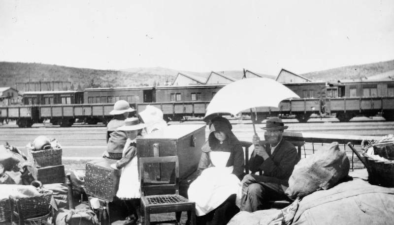 Refugee Boer Family