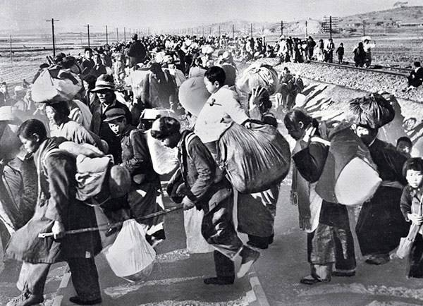 Refugees Fleeing