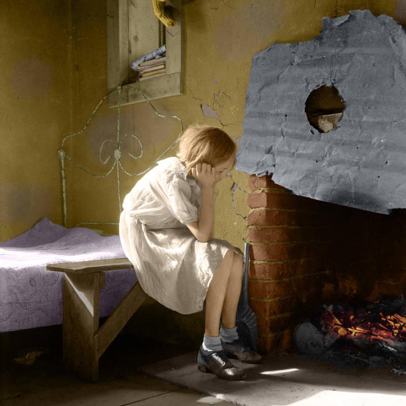 Resettled Farm Child