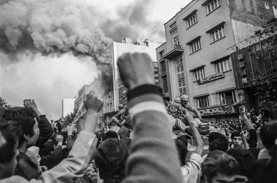 Iranian Revolution: 25 Intense Images Of Protest And Bloodshed