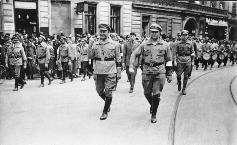 Rfb Marching In 1927