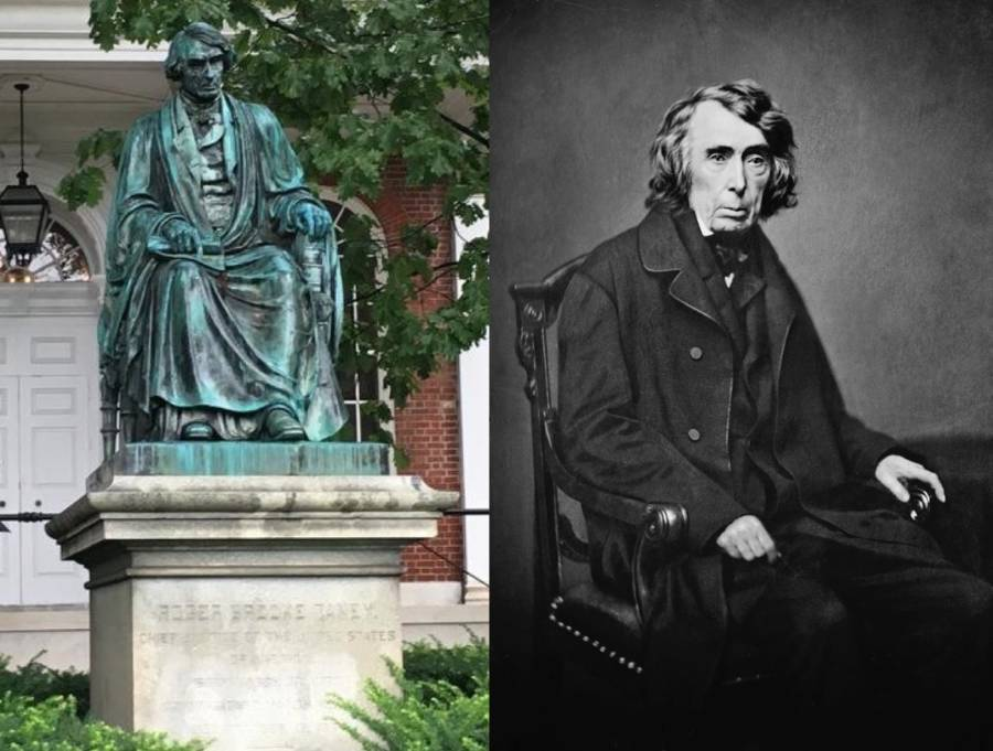 Roger Taney Statue