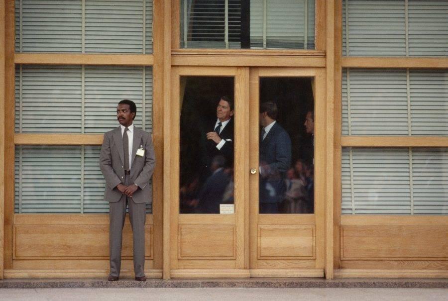 Ronald Reagan Waiting Ceremonies