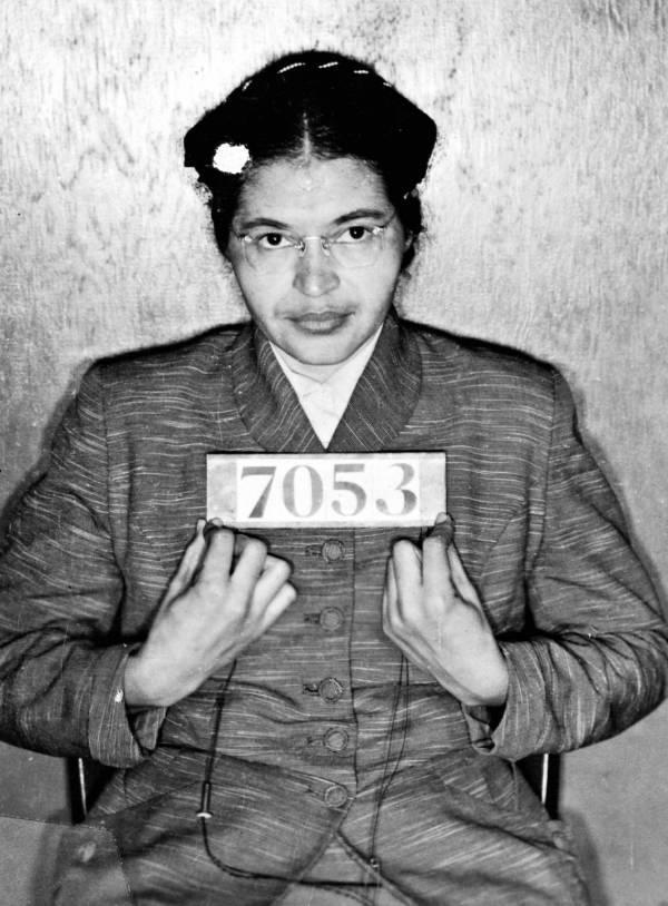 Rosa Parks Mugshot Boycott