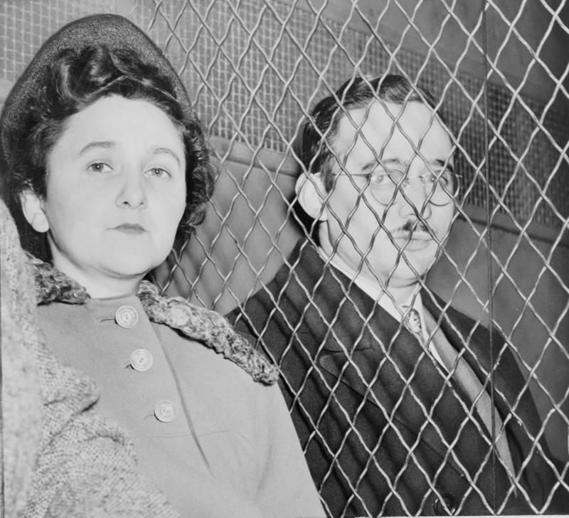 Rosenbergs Caught