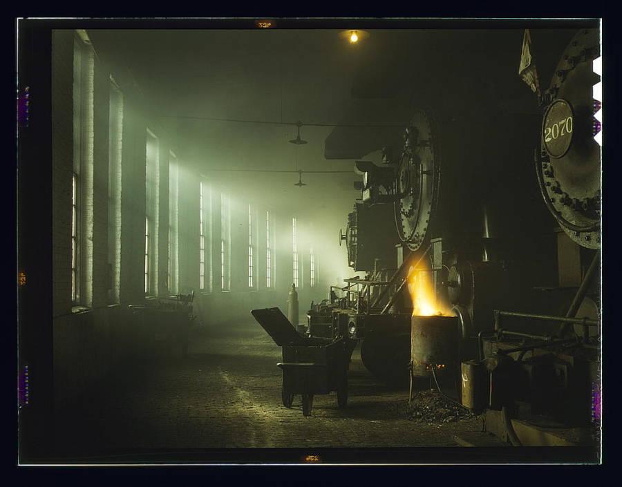 Roundhouse Railroad Yard