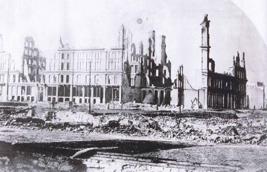 Ruined Building Street