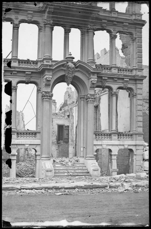 Ruins Of A Chicago Building