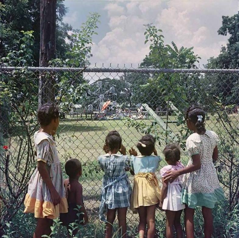 Segregation In America Fence