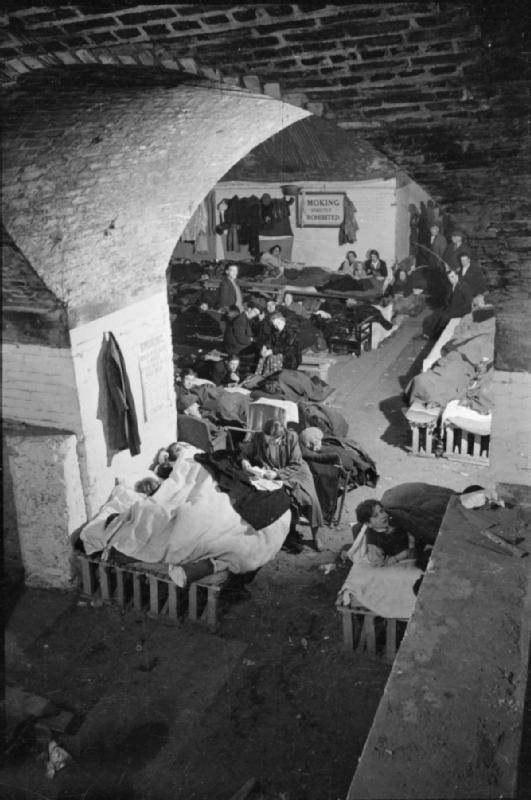 Sleeping In Bomb Shelter