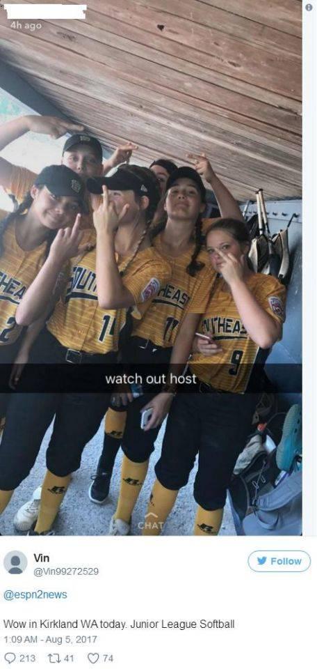 Softball Snapchat