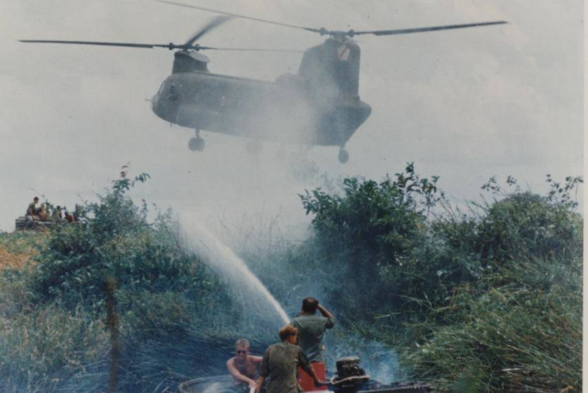 Spraying Agent Orange Ranch Hand