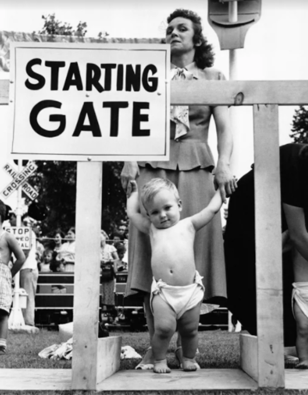 Starting Gate Baby Standing