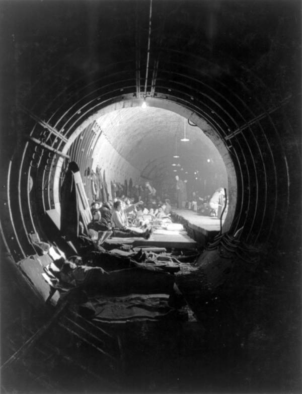 Subway Air Raid Shelter