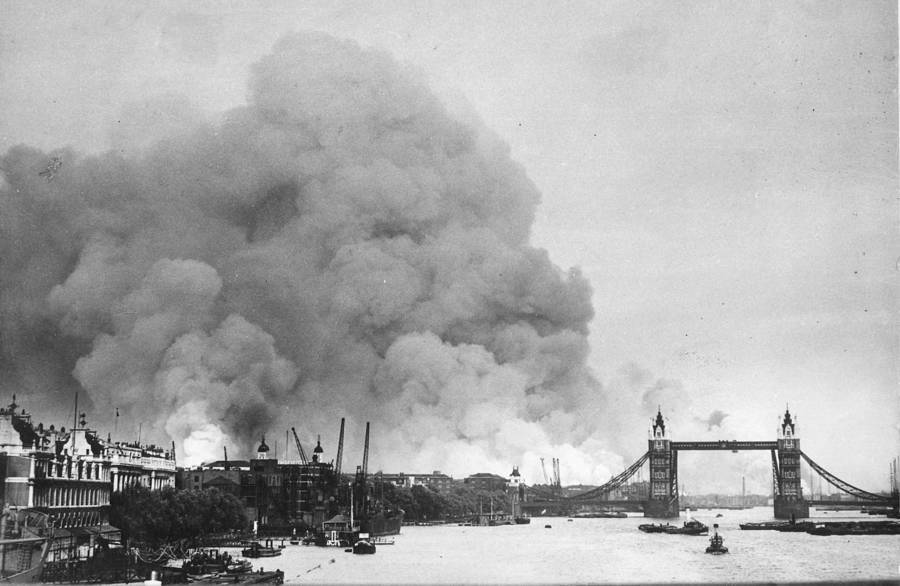 The Blitz River Thames