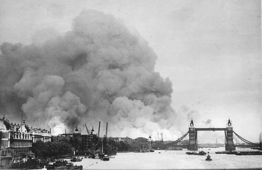 The Blitz River Thames