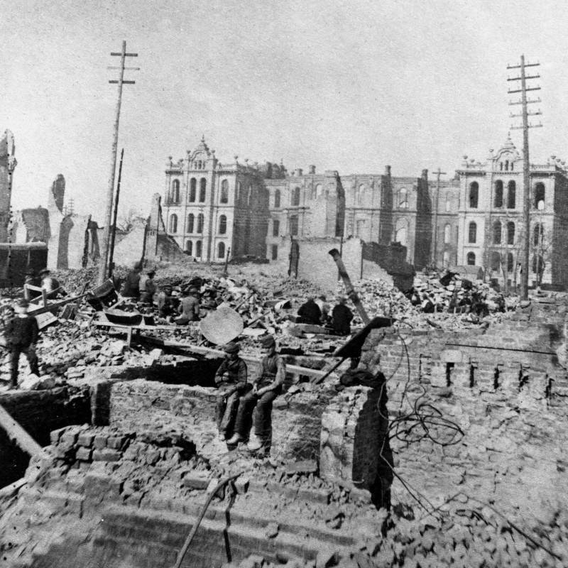 The City Destroyed