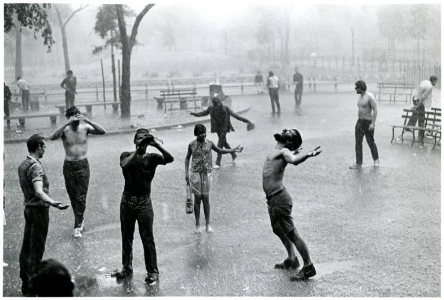 Tompkins Square Park Rain