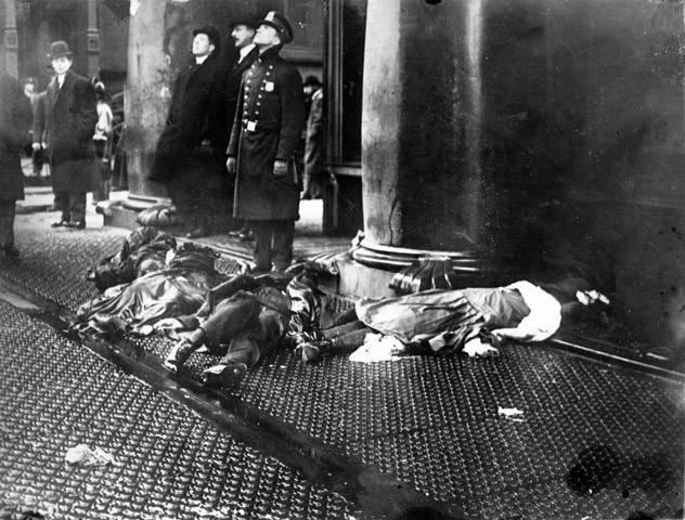 Triangle Shirtwaist Fire Bodies
