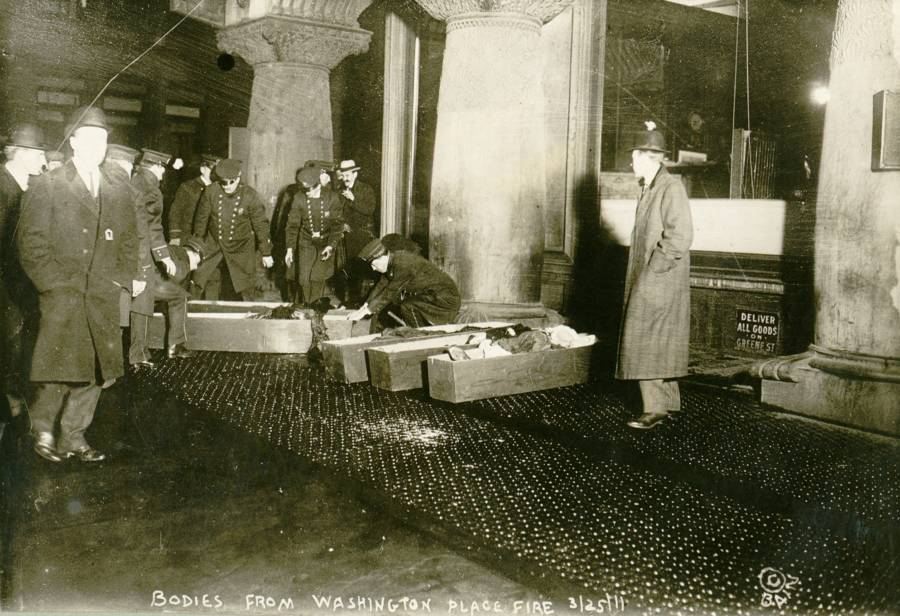 Triangle Shirtwaist Fire Coffins