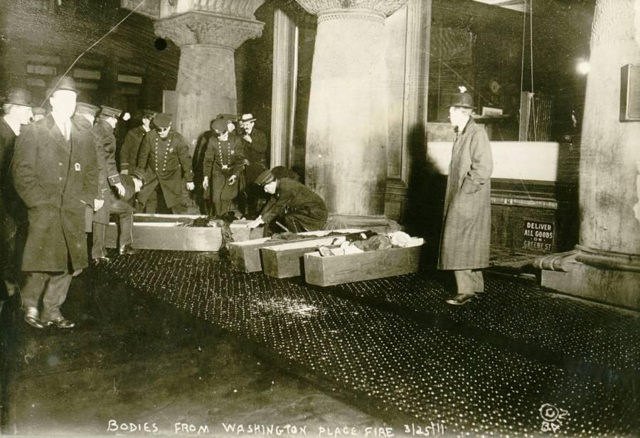 Triangle Shirtwaist Fire Coffins