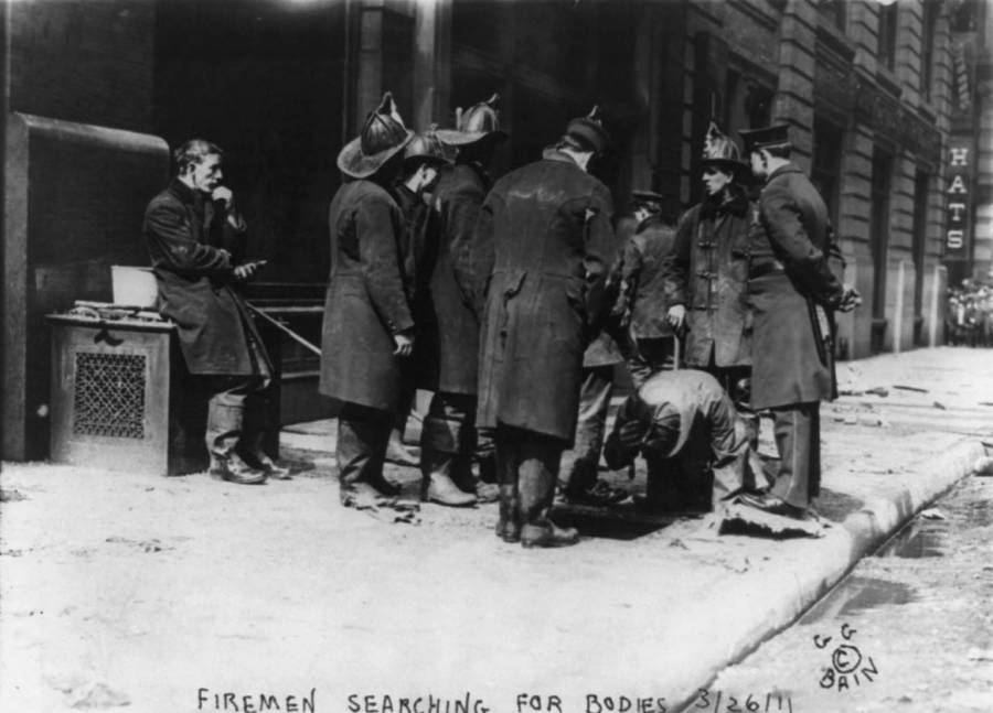 Triangle Shirtwaist Looking For Bodies